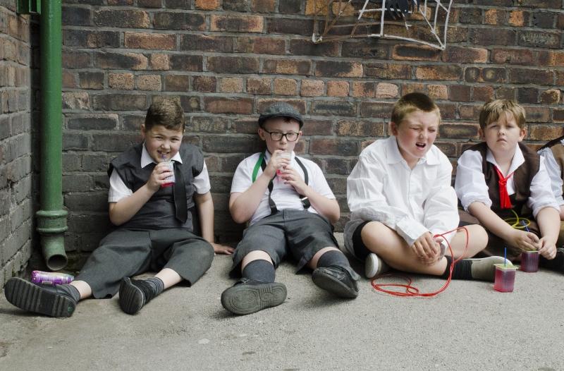 Boys floor group