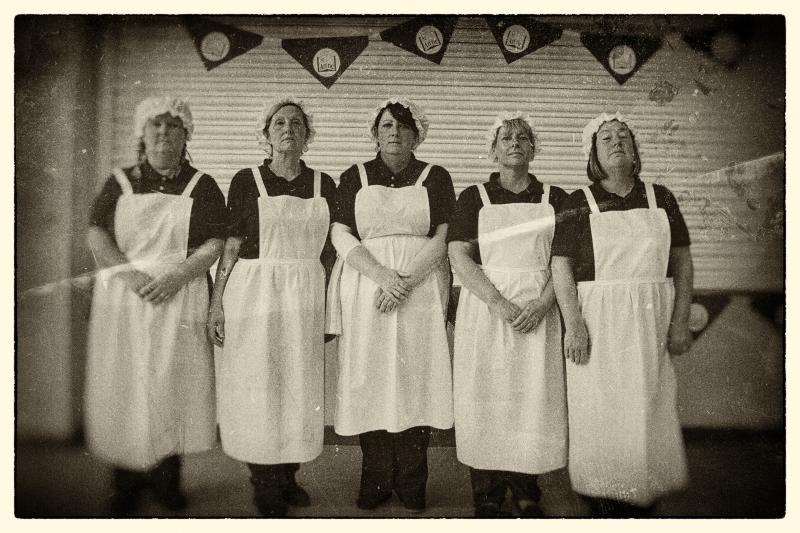 Dinner ladies old