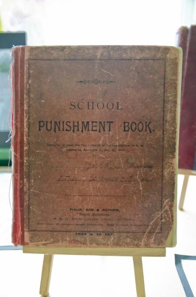 Punishment book