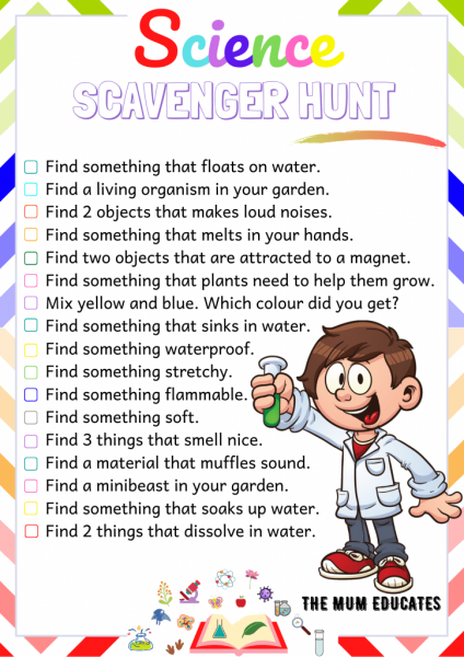 Science-Scavenger-Hunt