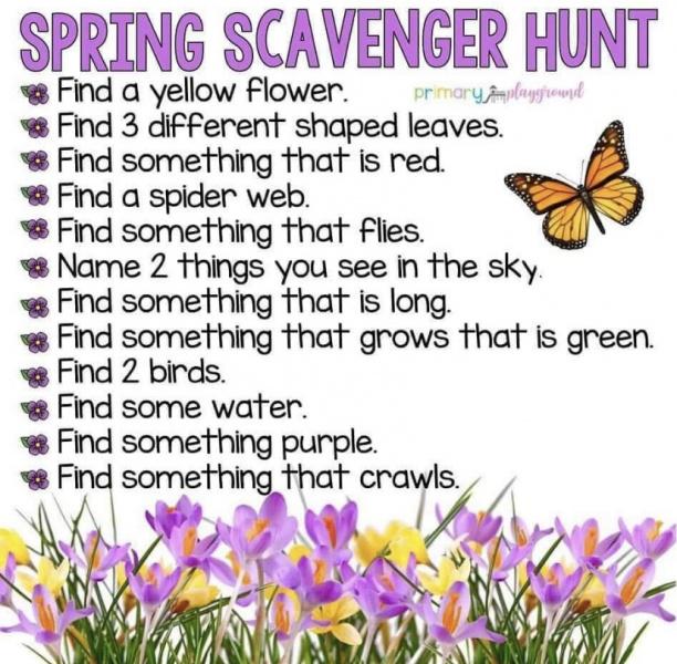 Spring-Scavenger-Hunt